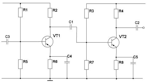 усилитель звука схема - Схемы.